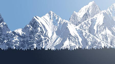 Wallpaper: Snow Mountains