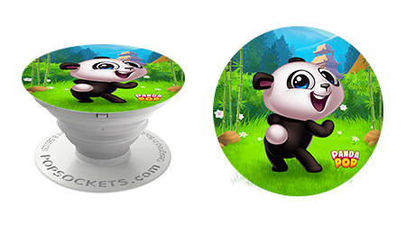 Popsocket Design: Panda Pop