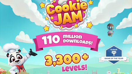 Cookie Jam Infographic