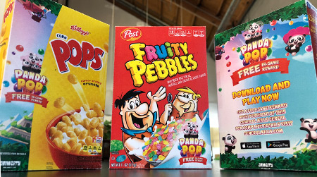 Cereal Box Activation Pitch