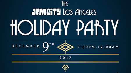 Jam City LA Holiday Party 2017 Invite