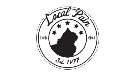 Local Pain Logo Design