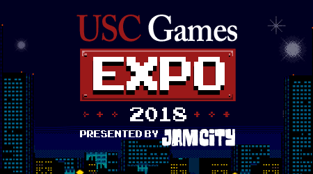 USC Games Expo Flyer Design