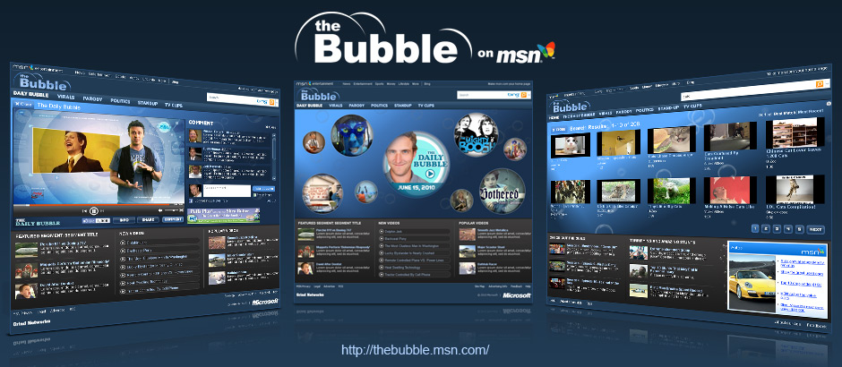 MSN: The Bubble 2010 Design